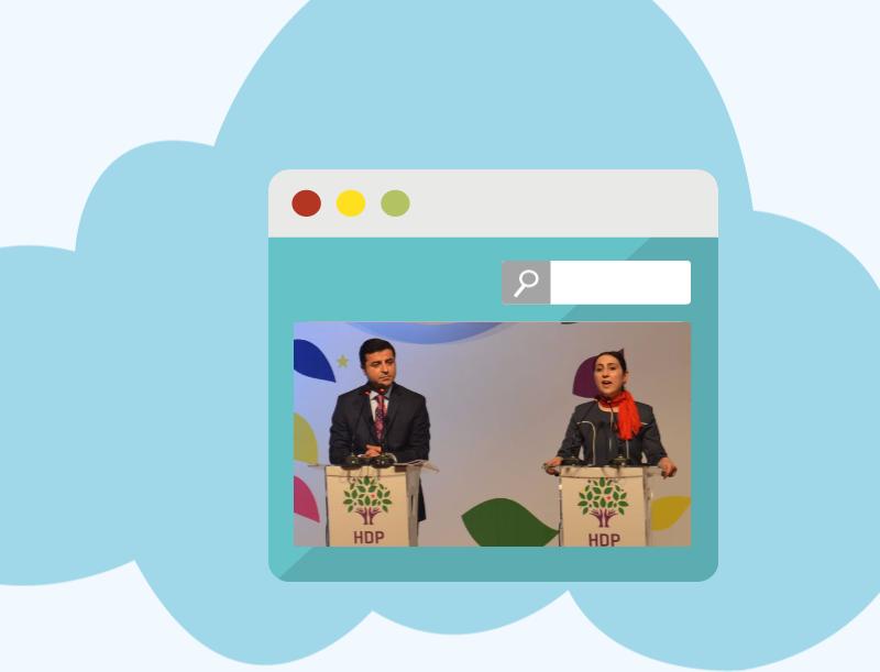 HDP seçim bildirgesi internet özgürlüğü