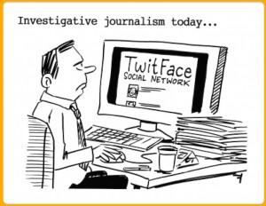 araştırmacı gazetecilik ve internet