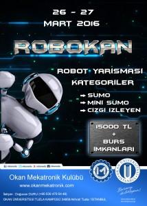 robot yarışması afiş