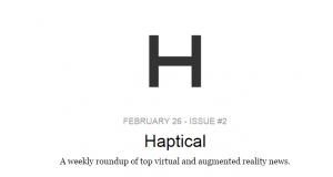 Your Weekly Roundup of Virtual   Augmented Reality   Revue