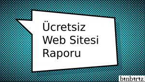 ucretsizwebsitesiraporu